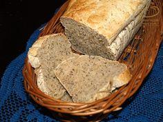 Szybki chleb lekko razowy