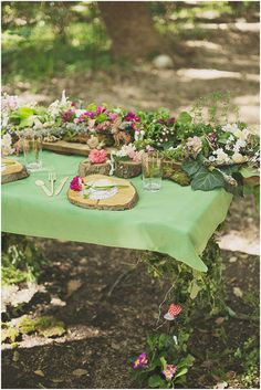 woodland wedding reception, photo by Ronel Kruger Photography http://ruffledblog.com/south-african-wine-estate-inspiration #receptions #woodsy