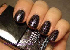 "Butter London's ""the Black Knight"""