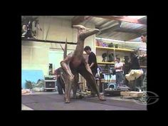 JURASSIC PARK 3 - Pteranodon Test - Stan Winston Studio Special Effects Behind the Scenes