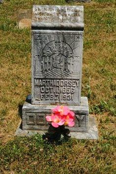 Our Own History: Tombstone Tuesday - Martha Susan Boren Dorsey #genealogy #familyhistory