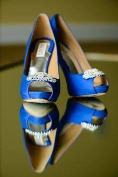 Something Blue Bridal Shoes I Sivan Photography I #somethingblue #shoes