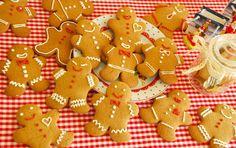 Gingerbread Men Cookies - recepta