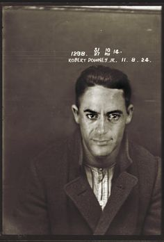 Celebrities Photoshopped as 1920s Criminals - My Modern Metropolis