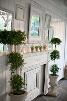 shabby chic mantles for fireplaces | shabby chic mantles for fireplaces - Bing Images | Mantles
