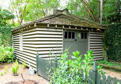 louvered potting shed by mcalpine tankersley