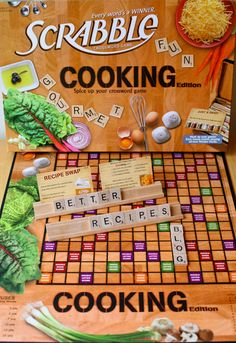"""""""Cooking"""" Scrabble?  I gotta find this :)"""