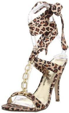 Ellie Shoes Women's 422-Rona Sandal,Leopard,9 M US  Ellie Shoes