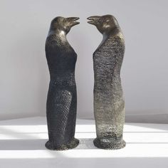 Norma Minkowitz. crocheted sculpture