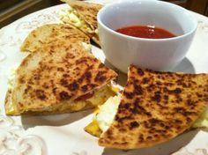 Breakfast Quesadilla Weight Watcher's (5 PPV) Breakfast Ideas