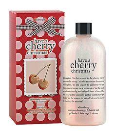 PHILOSOPHY cherry christmas shower gel