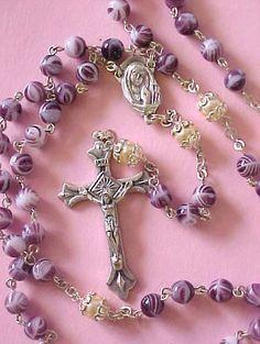 5. Purple Rosary Beads