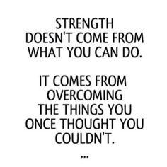 strength.