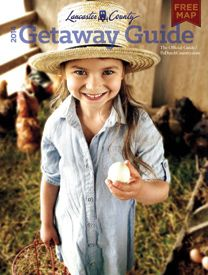 "2013 Lancaster County Map and Getaway Guide (Free) - apparently ""contains over $1,000 in PA coupons and discounts"" - Lancaster, PA"