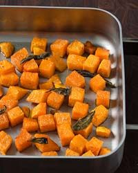 Roasted Butternut Squash with Sage Recipe on Food & Wine