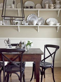Stylish Storage - Under $200 Kitchen Design Ideas From the Pros on HGTV  I may have already pinned this. This would look so pretty in our dining room!