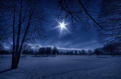 """Winter diamonds"" by George Saad"