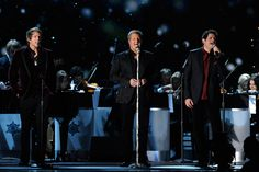 """Rascal Flatts perform the holiday standard """"White Christmas"""" as part of the 2011 """"CMA Country Christmas"""" special on ABC-TV (12/1/11)."""