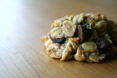 banana, chocolate chips, healthy cookies, no sugar, coconut oil, gluten free, healthy cookie recipes, nosugar, healthi cooki
