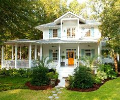 Colorful Coastal Cottage in BHG...my dream home!!!!
