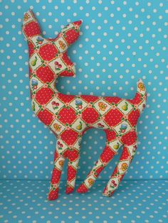 plush deer i found while looking for a plush deer head pattern... getting inspired.