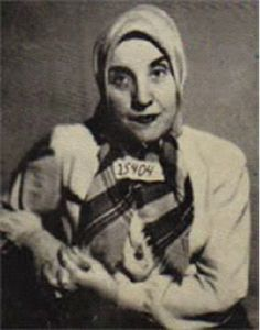 Gisella Perl: She was deported along w/ her family to Auschwitz; where she lost  her husband, only son, her extended family & parents. Given the task of working as a doctor, helping the inmates through their disease & discomfort, w/o the bare necessities: antiseptic, clean wipes, even running water. She is MOST FAMOUS, however, for saving the lives of hundreds of mothers by aborting their pregnancies, as pregnant mothers were often beaten & killed or used by Dr. Josef Mengele for vivisections.