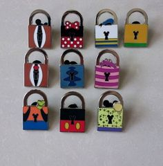 2013 Disney Lock pins set ,Limited Edition I have goofy!