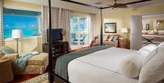 The Royal Estate Two Story One Bedroom Suite with Pool at Sandals Emerald Bay in Great Exuma, Bahamas