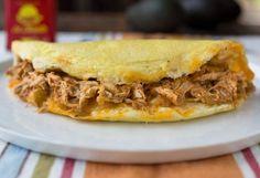 Chicken Enchilada Omelet