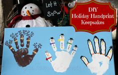 Holiday Handprint Keepsake Craft for Christmas by VegasFamilyEvents