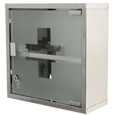 Medicine Cabinet Stainless Steel Medicine Cabinet Finished in Polished Chrome J035-13 Gedy J035-13