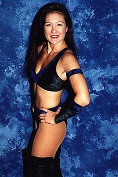Female wrestler Malia Hosaka