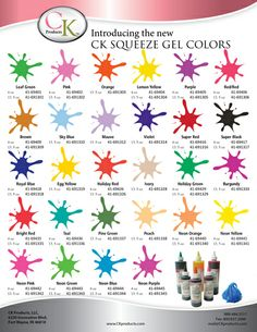 CK Gel Colors
