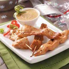 Chicken Satay Recipe from Taste of Home