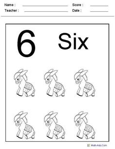 Number Recognition Worksheets and many others