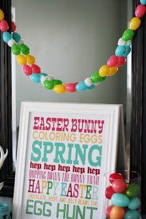 #EatserEgg #Garland #Easter #EggHunt #Spring