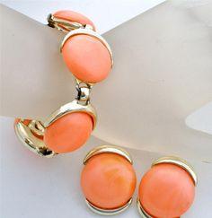 Vintage Bergere Bracelet Earrings Set by TheJewelryLadysStore, $48.00
