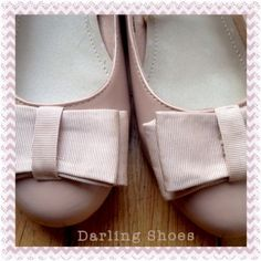Ladies Fiore Nude Patent Ballet Style Shoes UK5