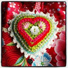 Crochet heart ... Lovely