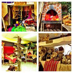 Kingdom Rock VBS -GMBC - medieval market in foyer