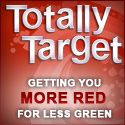 Totally Target Getting You More Red for Less Green!