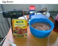Crazy DIY inventions - (I don't know whether to be impressed or apalled.)