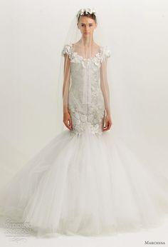 Marchesa Fall 2012 Wedding Dresses | Wedding Inspirasi