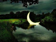 Beautiful moonlight shot.