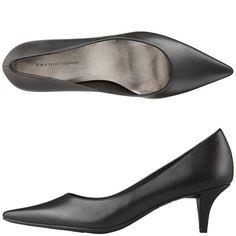 Women's Jean Pointed Toe Pump-Black