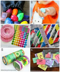Learn with Play at home: 12 fun DIY Activities for kids