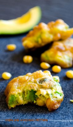 Corn & Avocado Fritters
