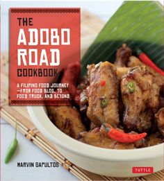 The Adobo Road cookbook (3 copies) - giveaway ends 7/26/13