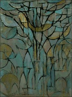 Tree by Piet Mondrian, 1872-1944, Dutch painter