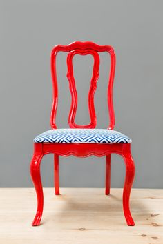 Red Lacquer Chair by